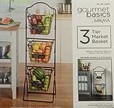 Gourmet Basics Metal Market Basket