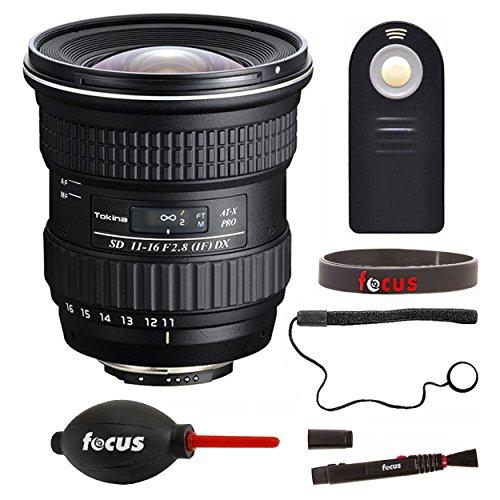 Tokina 11-16mm f/2.8 AT-X 116 PRO DX-II Lens for Canon EF w/Focus Accessories