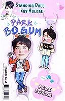 パク・ボゴム Park Bo Gum キーホルダー + スタンディングドール フィギュア + メッセージカード 「3点セット」