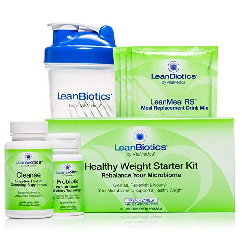 LeanBiotics Healthy Weight Starter Kit, French Vanilla 14-Day Program