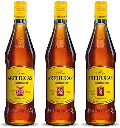Arehucas Ron Carta de Oro - 3x 700 ml - Total: 2100ml