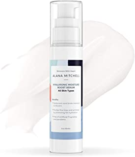 Hyaluronic Acid Serum For Face, Hydrating Anti Aging Face Moisturizer 2oz Fight Wrinkles, Sun Damage, and Fine Lines - Rep...