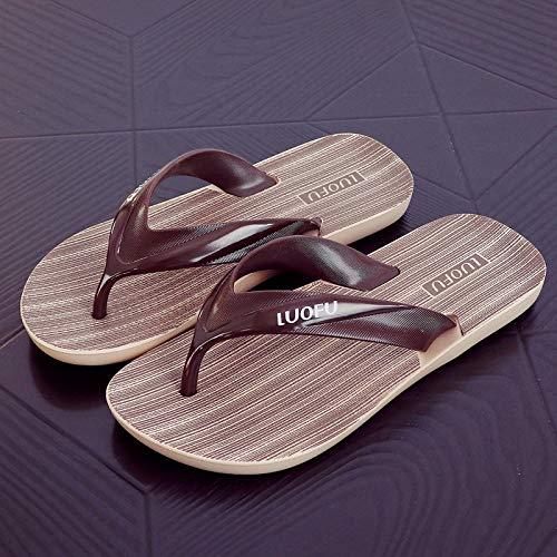 SGZBY Flip-Flops, Herrenschuhe, Strandschuhe, Sandalen, Flip-Flops, Außenfüße