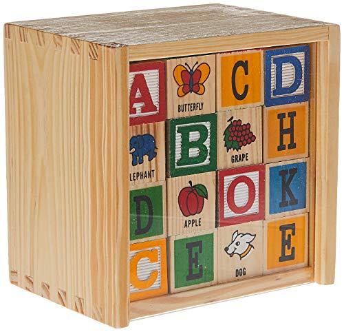 wood alphabet blocks - 7