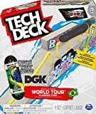 Tech Deck Build-A-Park World Tour, Ramp Set with Signature Fingerboard (Styles Vary) for Ages 6 and Ted ACS BldaPkRp WrdTr M03 GML (Spin Master 6055721)