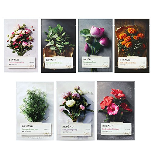 Beyond Paleo Herb Garden Mask of 7 tipi (Totale 7pcs)