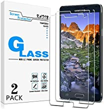 KATIN Galaxy Note 4 Screen Protector - [2-Pack] For Samsung Galaxy Note 4 Tempered Glass Bubble free, 9H Hardness with Lifetime Replacement Warranty