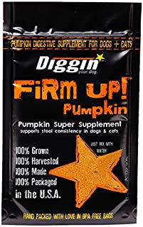 Diggin' Your Dog | Firm Up | Pumpkin Super Supplement | Anti-Diarrhea & Anti-Constipation