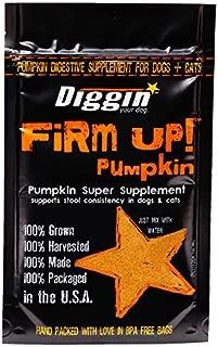Diggin' Your Dog | Firm Up | Pumpkin Super Supplement | Anti-Diarrhea & Anti-Constipation