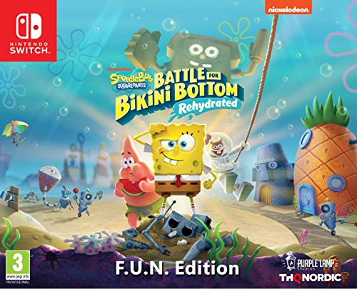 Spongebob SquarePants: Battle for Bikini Bottom - Rehydrated - F.U.N. Edition [Nintendo Switch]
