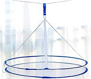 DurReus Foldable Hanging Mesh Drying Rack Weed,Cannabis,Herb Dryer Air Dry Baby Clothes Net Basket