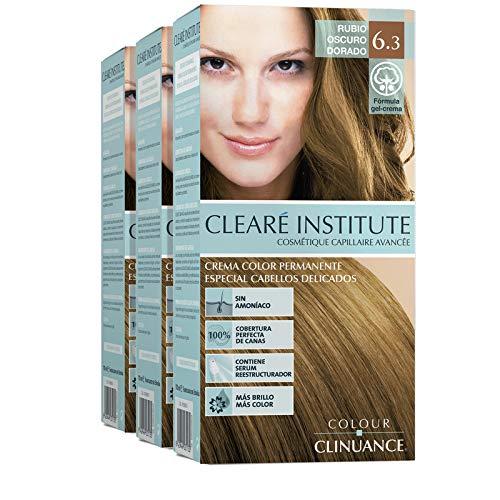 Colour Clinuance | Coloration Cheveux Permanent | Teinture Cheveux Sans Ammoniaque | Spécial Pour Les Cheveux Délicats (x3)