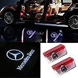 4 X Autotür LED Logo Projektion Licht Türbeleuchtung Willkommen Einstiegsbeleuchtung