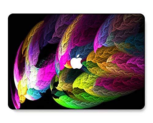GangdaoCase Carcasa rígida de plástico ultra delgada para MacBook Pro de 13 pulgadas con/sin barra táctil/Touch ID A2338 M1/A2289/A2251/A2159/A1989/A1706/A1708 (colorido B 2)