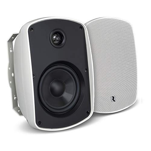 "Russound 5B65SB 6.5"" Indoor Outdoor Speaker Black"