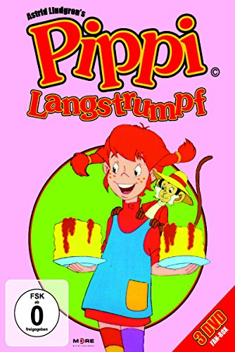Pippi Langstrumpf: 20 Folgen [3 DVDs]