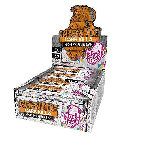 Grenade Carb Killa Birthday Cake Pack of 12