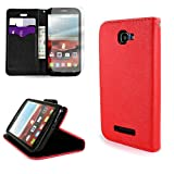 Alcatel One Touch Fierce 2 Flip Wallet Pouch Phone Case by CoverON (Carryall Series) with Screen...