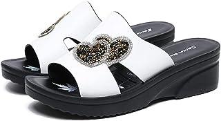 370d0a1bfde NIGHT WALL Zapatos de Playa para Mujer, Plataforma de perforación con  Broche de Destello de