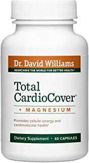 Dr. David Williams Total CardioCover + Magnesium Supplement Supports Cardiovascular Health, Blood Flow, and...