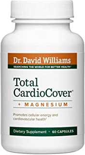 Dr. David Williams Total CardioCover + Magnesium Supplement Supports Heart and Circulatory Health and Boosts Cellular Energy Production, 60 Capsules (30-Day Supply)