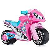 MOLTO | Moto Correpasillos Cross Rosa | Moto Corre Pasillos para Todo Tipo de...