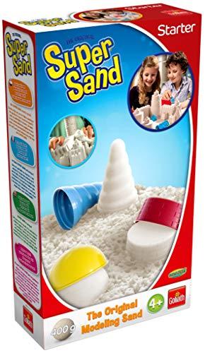 Goliath Toys 383318.012 Super Sand Starter 400g, Weiß