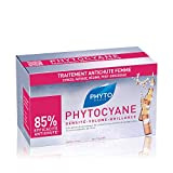 Phyto Phytocyane Trattamento Anti-Caduta in Fiale per capelli da Donna, Ideale per Caduta ...