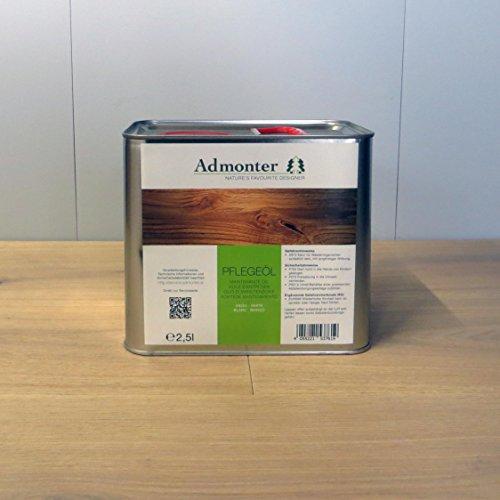 Admonter Parkettpflegemittel Pflegeöl weiß 2,5 L