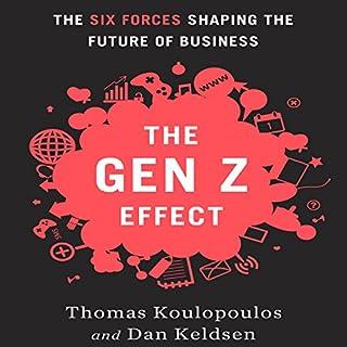 The Gen Z Effect audiobook cover art