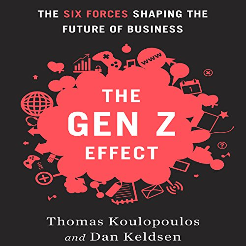 The Gen Z Effect audiobook cover art