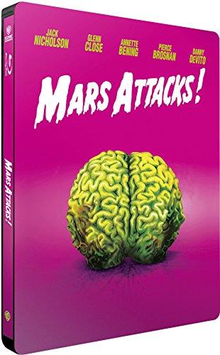 Mars Attacks - Limited Steelbook Edition (mit deutschem Ton)