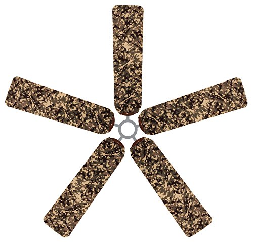 Fan Blade Designs Digital Camo Ceiling Fan Blade Covers