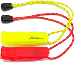 HEIMDALL Emergency Whistle with Lanyard for Safety Boating Camping Hiking Hunting Survival Rescue Signaling