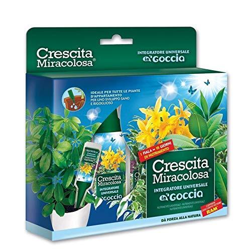 Crescita Miracolosa Goccia Universale, Verde, 18 x 3 x 19.5 cm