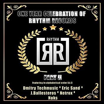 One Year Celebration Of Rhythm Records P2