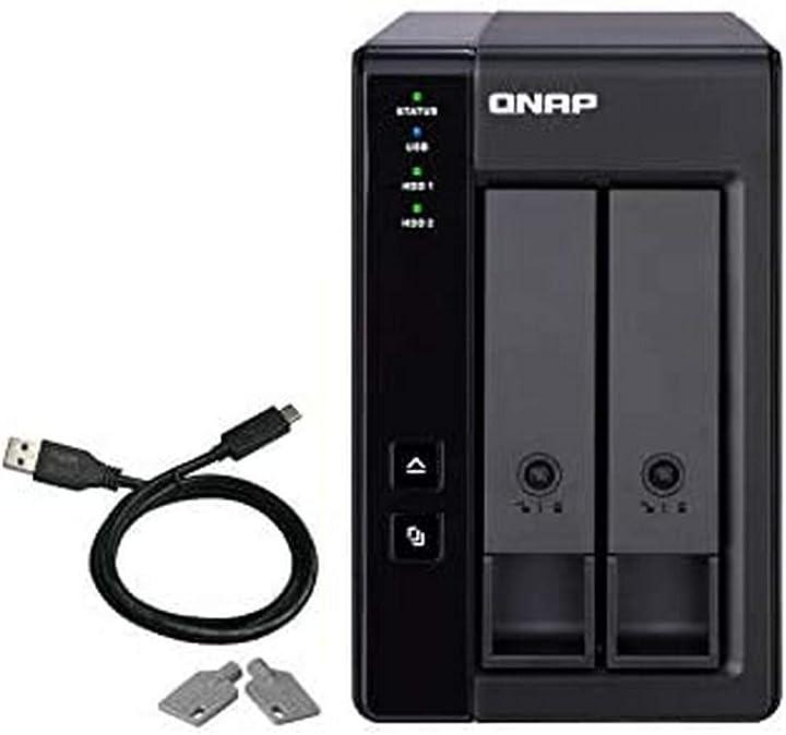 Qnap tr-002 contenitore di unità di archiviazione 2.5/3.5