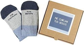 Ausardia, Calcetines con Mensaje Regalo Hombre Mujer Fabricado en España