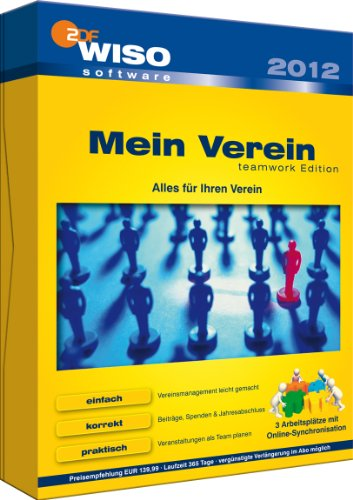 WISO Mein Verein 2012-Teamwork Edition (3 User Lizenz) [import allemand]