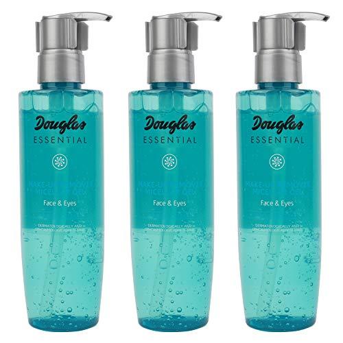 3x Douglas Essential Hautpflege 940784 Gesichtsreinigung Reinigungsgel Mu Remover Micellar Gel 200 ml Set