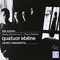Brahms: String Quartet 1 by Quatuor Ebene