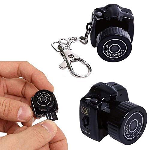 QEBIDUM Y2000 Mini DV DVR Camera Camcorder Video Recorder for Webcam Helmet Bike Motorbike Hiking Sports