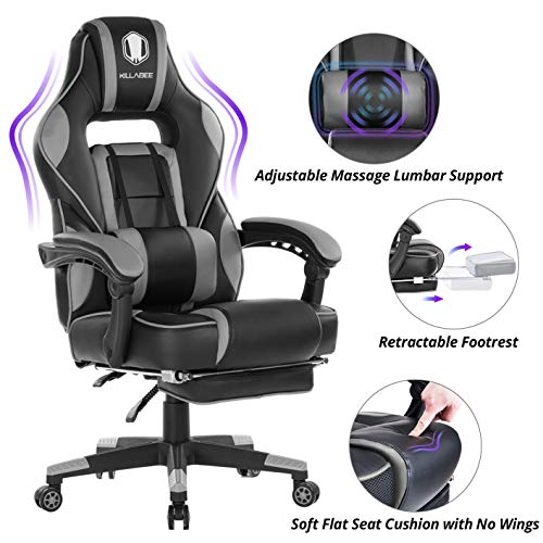 Our #5 Pick is the KILLABEE Massage Gaming Chair