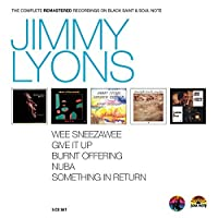 The Complete Remastered Recordings on Black Saint & Soul Note by Jimmy Lyons
