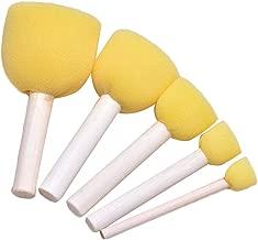 KABEER ART® Yellow Sponge Dabber Set of 5 pc