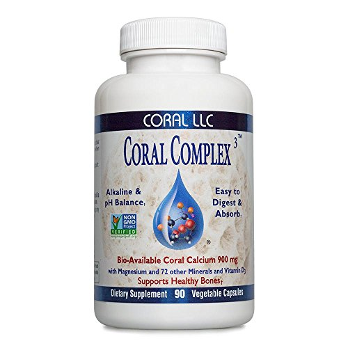 Coral LLC Coral Complex 3 With D3 1200 IU 90 Vegetable Capsules