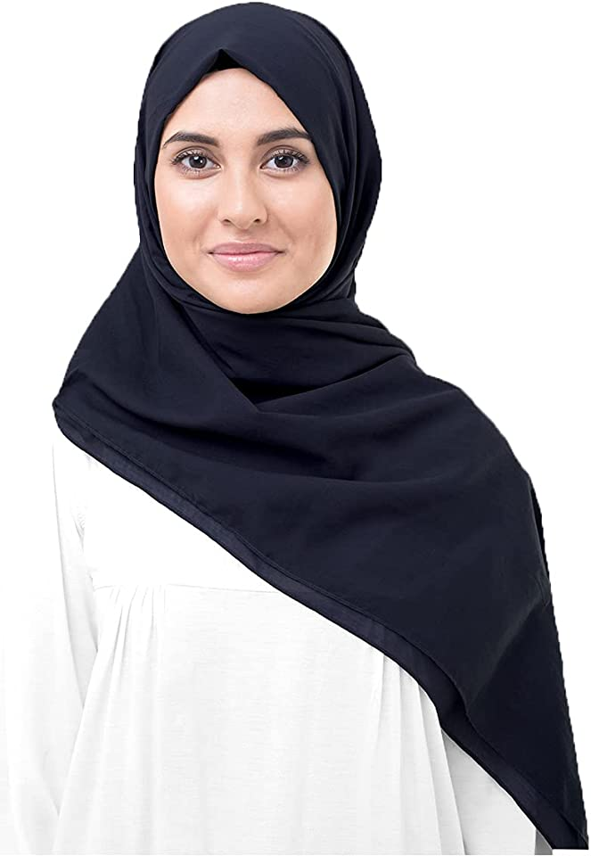 InEssence New Cotton Voile Scarf Ladies Wrap Large Hijab