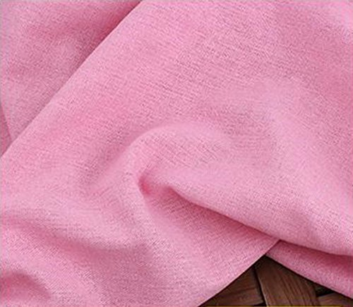 23 Colors Colored Cotton, Linen Cloth For Clothing, Solid Fabric, Width 4.9 ft (1.5 m), Canvas, Cotton, Linen, Handmade Crafts, Embroidery, Sewing, Solid Color