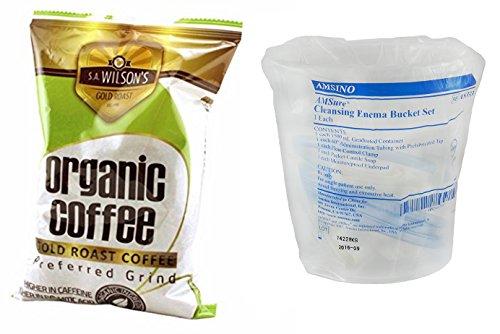 Organic Enema Coffee and Bucket Enema Kit (2)