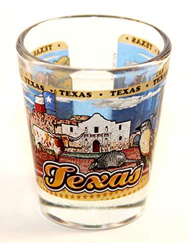 Texas State Wraparound Shot Glass